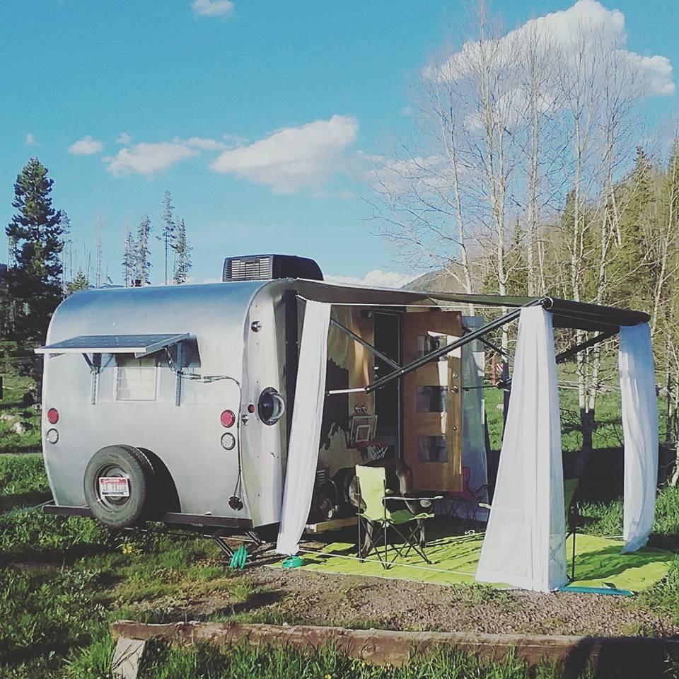 Camper Tour 1966 Aloha Rebuild For A Fulltime Family Shasta Wiring Diagram