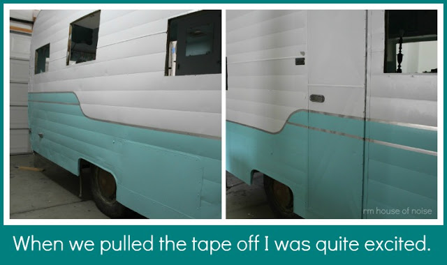 5 vintage camper exterior paint options for painting your - Preview exterior house paint colors ...