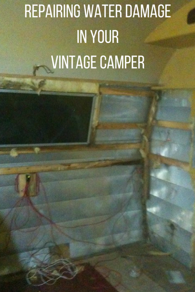 Vintage Camper Water Damage Repair Steps To Expect