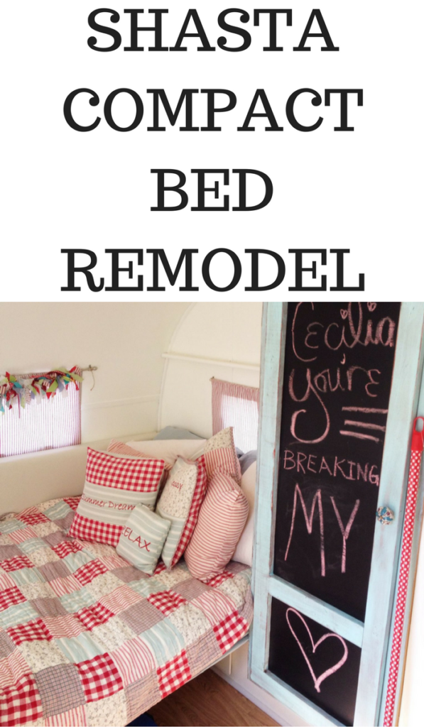 SHASTA COMPACT BED REMODELSHASTA COMPACT BED REMODEL