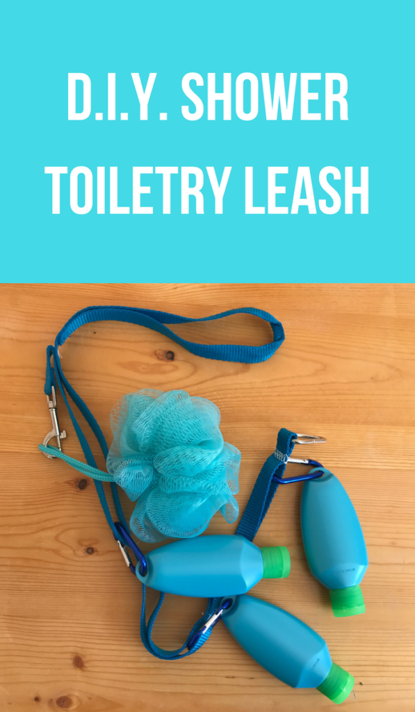 D.I.Y. Shower Toiletry Leash