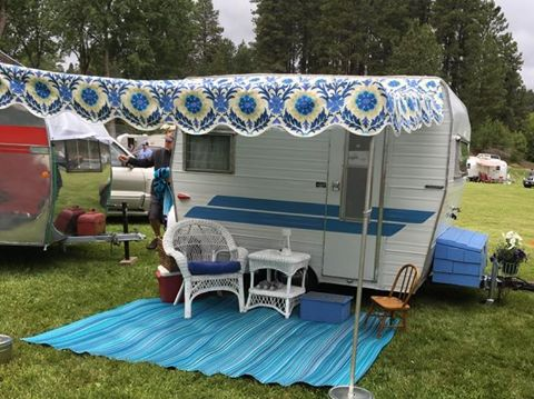 Where Do I Buy A Vintage Camper Awning Cecilia The Shasta