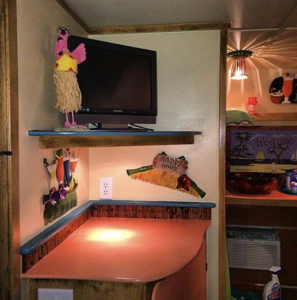 vintage camper tv