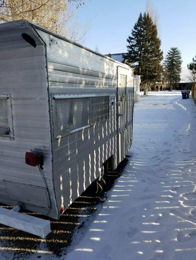 restored vintage travel trailer for sale cecilia the shasta. Black Bedroom Furniture Sets. Home Design Ideas