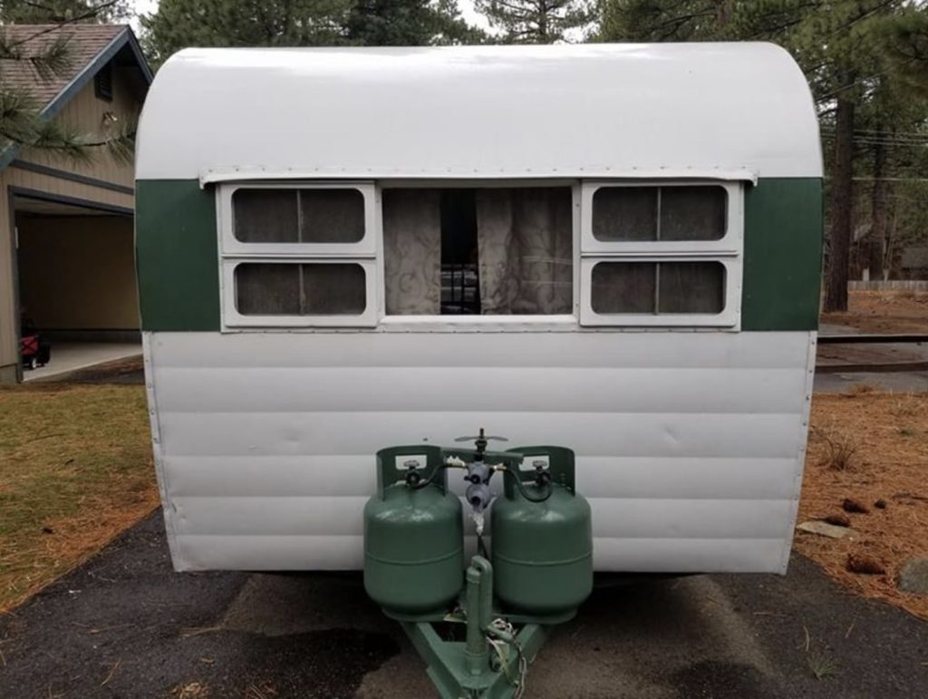 Cool 1955 King Travel Trailer For Sale Cecilia The Shasta Download Free Architecture Designs Estepponolmadebymaigaardcom