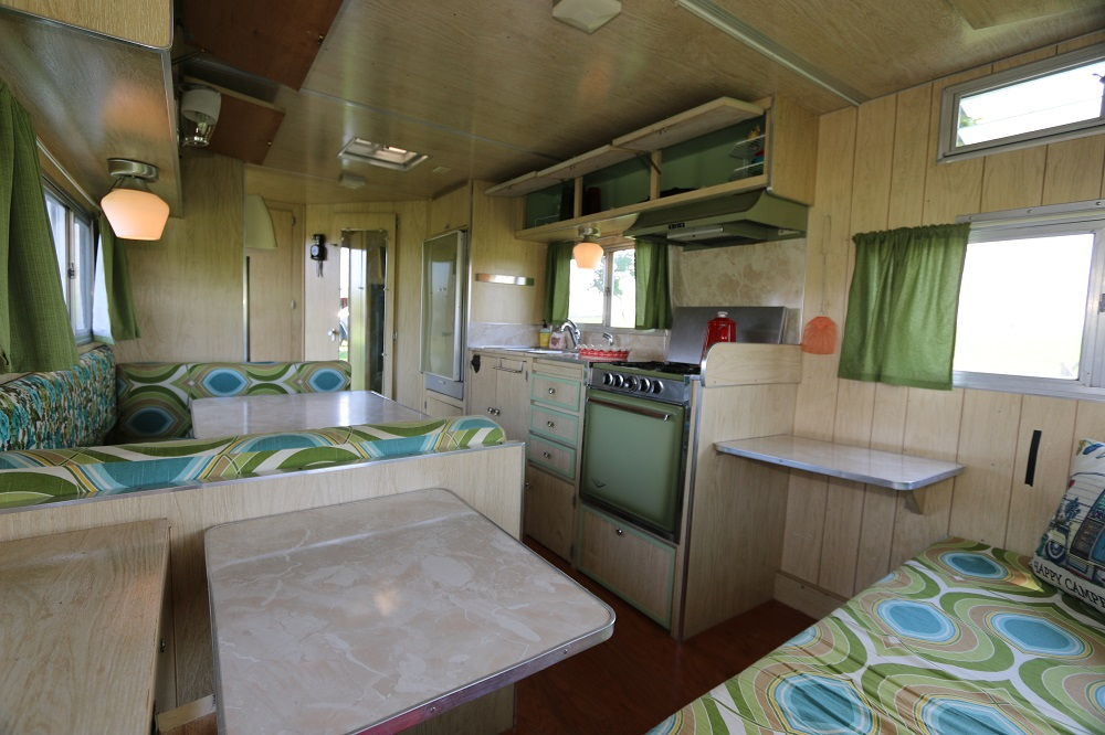 1969 Shasta Camper Interior