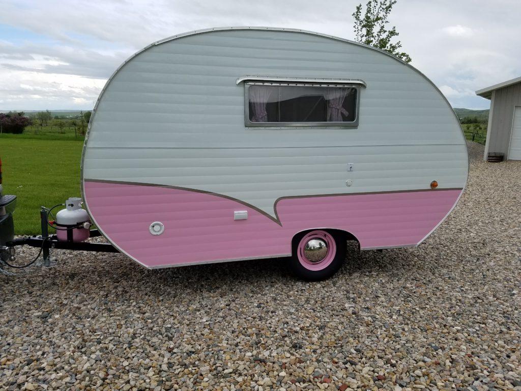 1956 Siesta Travel Trailer for Sale   Vintage Camper for Sale